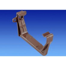 Wavin OSMA Squareline Support Bracket Pack of 2 100mm Brown 4T819n