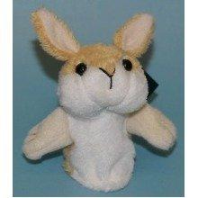 Dowman Rabbit Finger Puppet Soft Toy