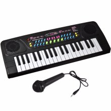 Electronic Keyboard Toy with Microphone