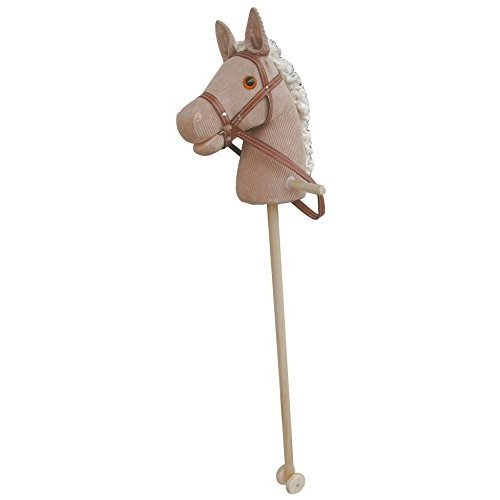 Sweety Toys 5116 hobby horse CORDY Cord Baumwolle Cotton with sounds