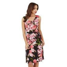 Pistachio, Ladies Maxi Printed Floral Dress