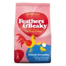 Feathers & Beaky Chicken Crumb, 4kg