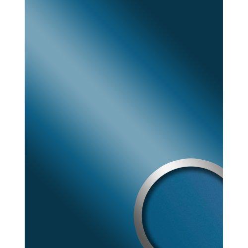 WallFace 10219 DECO SKYBLUE Wall panel self-adhesive Mirror glossy blue 2.6 sqm