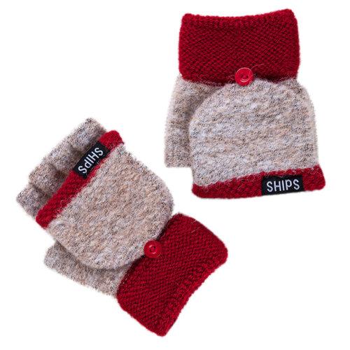 Winter Women Gloves/ Texting Gloves/ Half-Fingers Glove