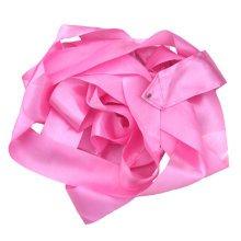 Gym Dance Ribbon Rhythmic Art Gymnastic Streamer Twirling Rod Stick Pink