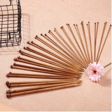 40Pcs Bamboo Knitting Needles