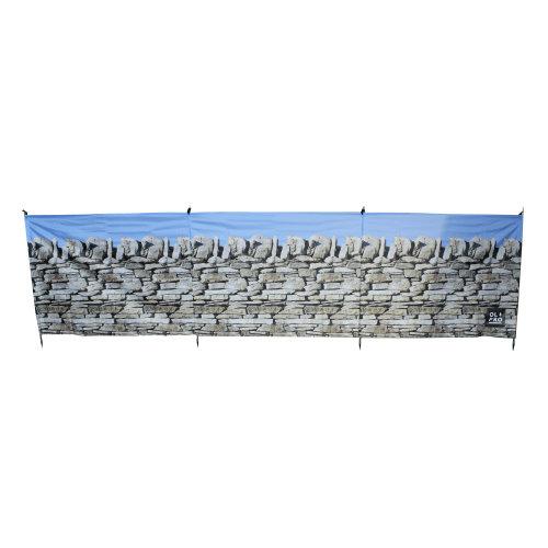 OLPRO Stone Wall 4 Pole Compact Windbreak (Steel poles)