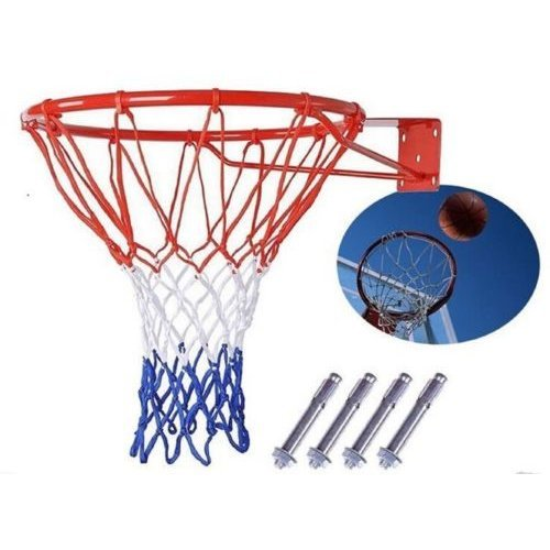 FastFold Wall-mounted Basketball Hoop with Net
