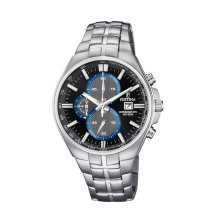 Festina F6862/2 Mens Chronograph Black Dial Stainless Steel Watch