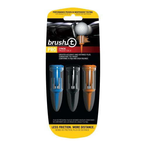 BrushT Mixed Combo Golf Tees with Ball Marker 3 pack