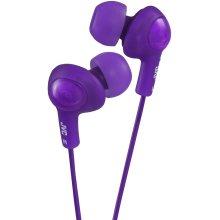 JVC Gumy Plus Noise Isolating Headphones - Grape Violet