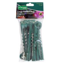 Large Pack Of 10 Garden Pegs -  pegs garden weed membrane string netting robust landscaping control assorted package deals both items