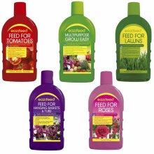 Liquid Garden Plant Lawn Flower Vegetable Feed Food Grow Fertiliser - Makes 150L