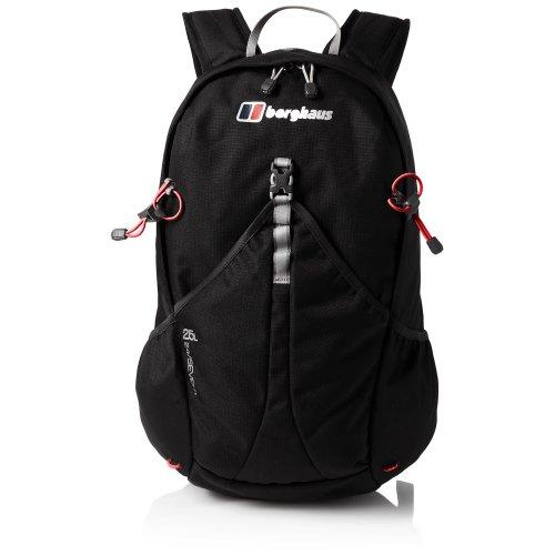 Berghaus TwentyFourSeven Plus 25 Litre Outdoor Rucksack Backpack, Black