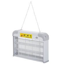 Outsunny Steel LED Mosquito Killer Lamp - Grey | Hanging Fly Zapper
