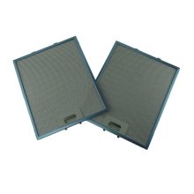 2 x Universal 320 x 260 mm Metal Cooker Hood Grease Filters