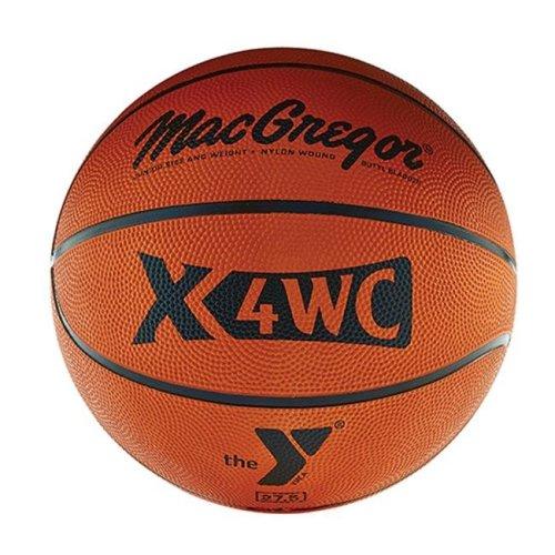 MacGregor 1334111 X4Wc Junior Basketball with YMCA Logo