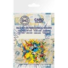 Dc Comics Heroes Travel Pass Card Holder