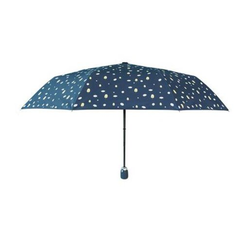 Sunscreen Sun And Rain Umbrella Anti-UV Original Design Folding Umbrella, Navy