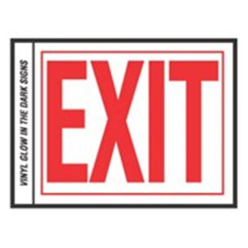 Hy-Ko Products EE-2 Exit Sign 6 in. Letter Glowing