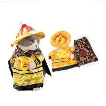 Dog Cats Halloween Costume Emperor Cosplay