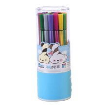 [J] 24 Colors Watercolor Drawing Pens Colored Marker Pens Set for Children