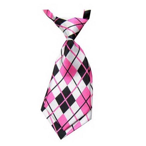 Unique Baby Tie Adjustable Neck Tie Party Wedding Show Tie Girl Boy Tie [Pink]