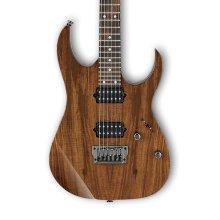 Ibanez RG652KFX-KB Prestige Electric Guitar, Exotic HH Koa Brown