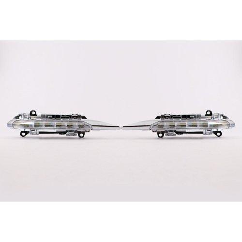 Front bumper LED DRL light set Mercedes-Benz C Class AMG C63 W204 10-14